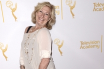 Jayne Atkinson of House of Cards arrives at the Producers nominee reception.