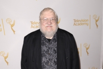 George R.R. Martin arrives at the Producers nominee reception.
