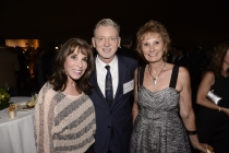 (From left) Kate Linder, Warren Littlefield and Roxanne Messina-Captor at the Producers Nominee Reception.