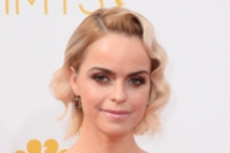 Taryn Manning of Orange Is the New Black arrives at the 66th Emmy Awards.