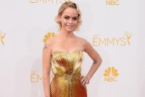 Taryn Manning of Orange is the New Black arrives at the 66th Emmys.