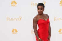 Uzo Aduba of Orange Is the New Black arrives at the 66th Emmy Awards.