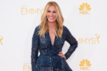 Julia Roberts of The Normal Heart arrives at the 66th Emmys.