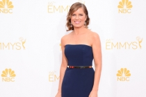 Kim Dickens arrives at the 66th Emmys.