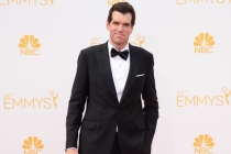 Timothy Simons of Veep arrives at the 66th Emmys.