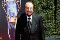 James Lipton arrives for the 2014 Primetime Creative Arts Emmys.