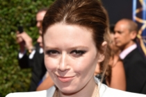 Natasha Lyonne arrives for the 2014 Primetime Creative Arts Emmys.