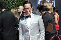 Dan Bucatinsky arrives for the 2014 Primetime Creative Arts Emmys.