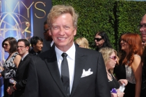 Nigel Lythgoe of So You Think You Can Dance arrives for the 2014 Primetime Creative Arts Emmys.