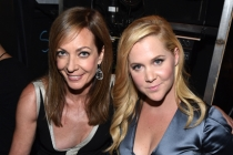 Allison Janney and Amy Schumer at the 2014 Primetime Creative Arts Emmys.