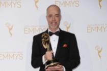 William Turro celebrates at the 2014 Primetime Creative Arts Emmys.