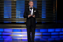 Adam Shankman presents an award at the 2014 Primetime Creative Arts Emmys.