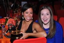 Marina Cockenberg (l) and Christine Friar (r) at the 2014 Creative Arts Emmys ball.