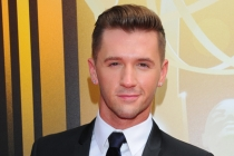 Travis Wall on the Red Carpet at the 2015 Creative Arts Emmys.