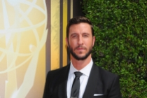 Pablo Schreiber on the red carpet at the 2015 Creative Arts Emmys.