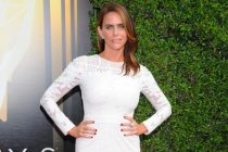 Amy Landecker on the Red Carpet at the 2015 Creative Arts Emmys.