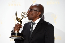 Greg Phillinganes backstage at the 2015 Creative Arts Emmys.