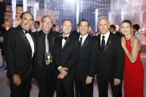 Television Academy Governors Edward Fassl, Daniel H. Birman, President and COO, Maury McIntyre, Chairman, Bruce Rosenblum, Vice Chair, Kevin Hamburger and Governor Tammy Glover at the 2015 Creative Arts Ball.
