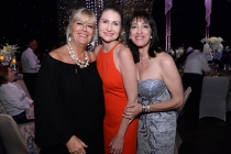 Television Academy Governors, Barbara Cassel, Tammy Glover, and Governors Ball Co-Chair Geriann McIntosh at the 2015 Creative Arts Ball.