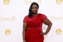 Octavia Spencer arrives at the 66th Emmy Awards.