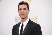 Pablo Schreiber of Orange Is the New Black arrives at the 66th Emmy Awards.