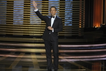 Seth Meyers hosts the 66th Emmy Awards.