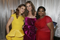 Kate Walsh (l) Allison Janney (c) and Octavia Spencer (r) at the 66th Emmy Awards.
