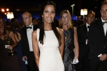 Padma Lakshmi of Top Chef at the 66th Emmys Governors Ball.