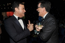 Jimmy Kimmel, Stephen Colbert