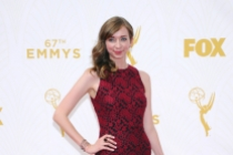 Lauren Lapkus on the red carpet at the 67th Emmy Awards.