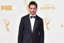 Peter Facinelli on the red carpet at the 67th Emmy Awards.