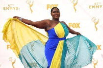 Danielle Brooks on the red carpet at the 67th Emmy Awards.