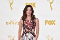 Chelsea Peretti on the red carpet at the 67th Emmy Awards.