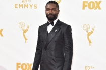 David Oyelowo on the red carpet at the 67th Emmy Awards.