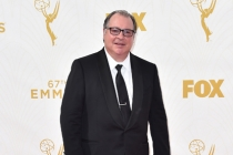 Kevin Dunnon on the red carpet at the 67th Emmy Awards.