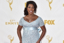 Lorraine Toussaint on the red carpet at the 67th Emmy Awards.