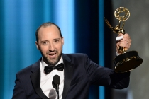 Tony Hale accepts this award at the 67th Emmy Awards.