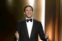 Andy Samberg at the 67th Emmy Awards.