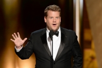 James Corden at the 67th Emmy Awards.