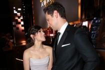 Yael Stone and Matt McGorry at the 67th Emmy Awards
