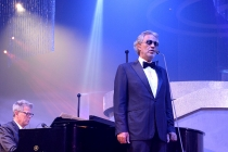 Andrea Bocelli performs at the 67th Emmys Governors Ball.