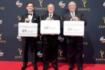 Ernst and Young Representatives on the red carpet at the 2016 Primetime Emmys.