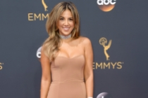 Liz Hernandez on the red carpet at the 2016 Primetime Emmys.