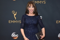 Kate Linder on the red carpet at the 2016 Primetime Emmys.