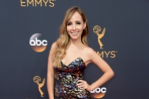 Lilliana Vazquez on the red carpet at the 2016 Primetime Emmys.