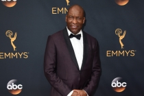 John Singleton on the red carpet at the 2016 Primetime Emmys.