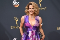 Alexandra Billings on the red carpet at the 2016 Primetime Emmys.