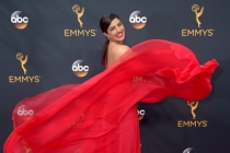 Priyanka Chopra on the red carpet at the 2016 Primetime Emmys.