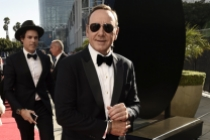 Kevin Spacey on the red carpet at the 2016 Primetime Emmys.