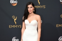 Trace Lysette on the red carpet at the 2016 Primetime Emmys.